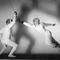 Photo taken at Salle Pouj Fencing / San Antonio Fencing Center and Olympian Fencing Club by Yvette S. on 12/12/2013