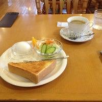 Photo taken at ダムの喫茶店 by Masato H. on 10/19/2013