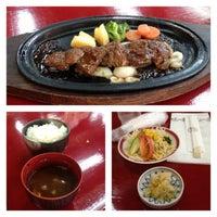 Photo taken at 松阪肉 石かわ 鵜の森店 by Masato H. on 9/8/2013
