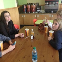 Photo taken at Zoës Kitchen by Farrah G. on 2/15/2013