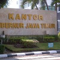Photo taken at Kantor Gubernur Jawa Timur by hardianto s. on 10/7/2012