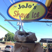 Photo taken at Jo Jo's Shave Ice by Galen H. on 3/12/2017