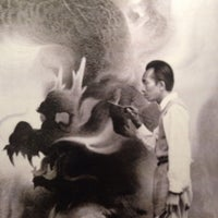 Photo taken at Tyrus Wong: Water to Paper--Paint to Sky by Jaemie on 1/26/2014