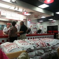 Photo taken at Five Guys by Jeremy R. on 2/6/2013