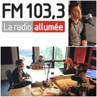 Photo taken at FM 103,3 La Radio Allumée by Simon R. on 5/25/2015