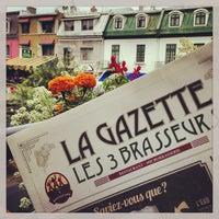 Das Foto wurde bei Les 3 Brasseurs von Simon R. am 7/4/2013 aufgenommen
