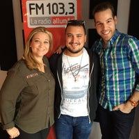 Photo taken at FM 103,3 La Radio Allumée by Simon R. on 3/17/2015