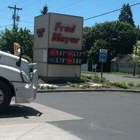 Photo taken at Fred Meyer Fuel by Elizabeth P. on 6/6/2013