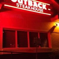 Photo taken at Outback Steakhouse by Kimberly H. on 4/2/2013