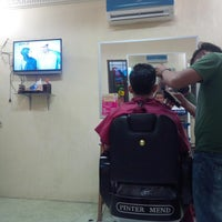 Photo taken at Sutan Barber Shop by fuadhy H. on 3/6/2014