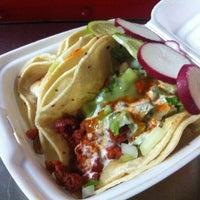 Photo taken at El Rey Del Taco Truck by Michael Y. on 3/20/2013