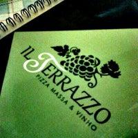 Photo taken at Pizzaria Il Terrazzo by Grazi C. on 8/3/2013