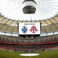 Photo taken at BC Place by NYB on 3/2/2013