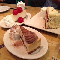 Photo taken at The Cheesecake Factory by Gian L. on 6/5/2013