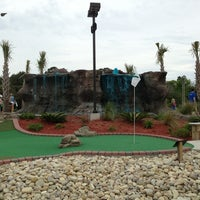 Photo taken at Adventure Golf by Jason R. on 6/6/2013