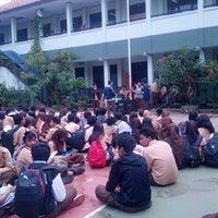 Photo taken at SMAN 6 Bekasi by Tamara S. on 4/6/2013