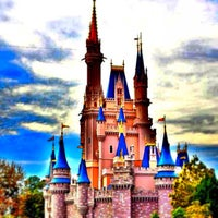 Photo taken at Cinderella Castle by Michael C. on 1/9/2013