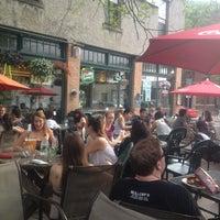 Photo taken at Collegetown Bagels by Aigulek on 5/21/2013