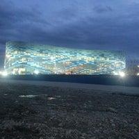 Photo taken at Iceberg Skating Palace by Peter T. on 1/29/2013