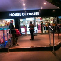 Photo taken at House of Fraser by sinister p. on 11/23/2012