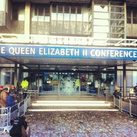 Photo taken at Queen Elizabeth II Conference Centre by sinister p. on 11/29/2012