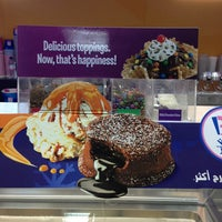 Photo taken at Baskin Robbins Ruwi by Fatma N. on 1/27/2013