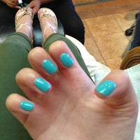 Photo taken at Paradise Nail and Spa by Ezgi G. on 5/26/2013