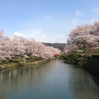 Photo taken at 鹿野城跡公園 by Kenji Y. on 4/5/2014