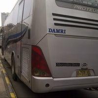 Photo taken at Terminal Blok M Jalur 2 by Diandra lyasatila on 3/2/2013