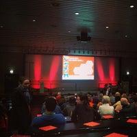 Photo taken at Universiteit Antwerpen - Campus Groenenborger by Wim B. on 2/23/2013
