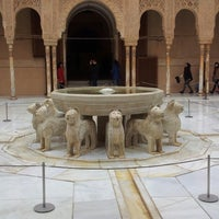Photo taken at La Alhambra y el Generalife by Alex G. on 2/23/2013