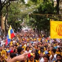 Photo taken at Plaza Las Tres Gracias by Alberto R. on 3/12/2014