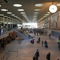 Photo taken at Copenhagen Airport (CPH) by Cristiano C. on 3/17/2013