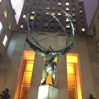 Photo taken at Rockefeller Center by Luis S. on 7/2/2013