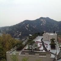 Photo taken at 상명대학교 밀레니엄관 by choo c. on 4/19/2014