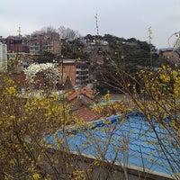 Photo taken at 상명대학교 밀레니엄관 by choo c. on 3/29/2014