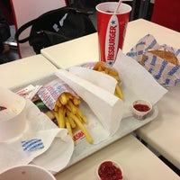 Photo taken at Hesburger by Лилия on 1/28/2013