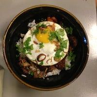 Photo taken at Fat Spoon Café by edward o. on 2/17/2013