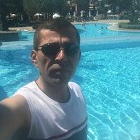 Photo taken at Gloria Verde Resort pool by Ramazan A. on 7/9/2016