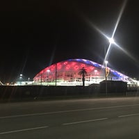 Снимок сделан в Пляж Олимпийского парка пользователем Anya K. 1/5/2018