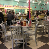 Photo taken at The Pop Shop, Cafe and Creamery by Amanda G. on 1/15/2013