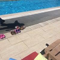 Photo taken at Asya Spor Merkezi Yüzme Havuzu by Hilal Aleyna B. on 7/26/2016