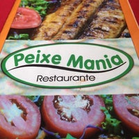 Photo taken at Peixe Mania by Kristie Alley G. on 5/12/2013