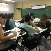 Photo taken at FIO - Faculdades Integradas De Ourinhos by Bruna L. on 2/26/2013