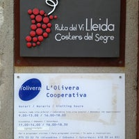 Photo taken at L'Olivera Cooperativa by Marta R. on 3/24/2013