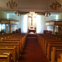 Photo taken at Korean Martyr's Catholic Church by Junyoung J. on 2/14/2013