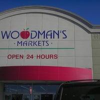 Photo taken at Woodman's Food Market by Darian S. on 3/20/2013