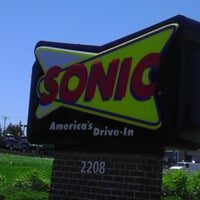 Photo taken at SONIC Drive In by Darian S. on 5/24/2013