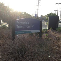 Photo taken at Escondido Transit Center by Chad S. on 3/21/2013