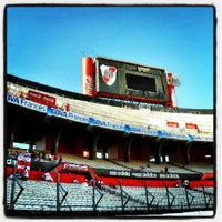 "Photo taken at Estadio Antonio Vespucio Liberti ""Monumental"" (Club Atlético River Plate) by Patricio Andrés L. on 2/24/2013"